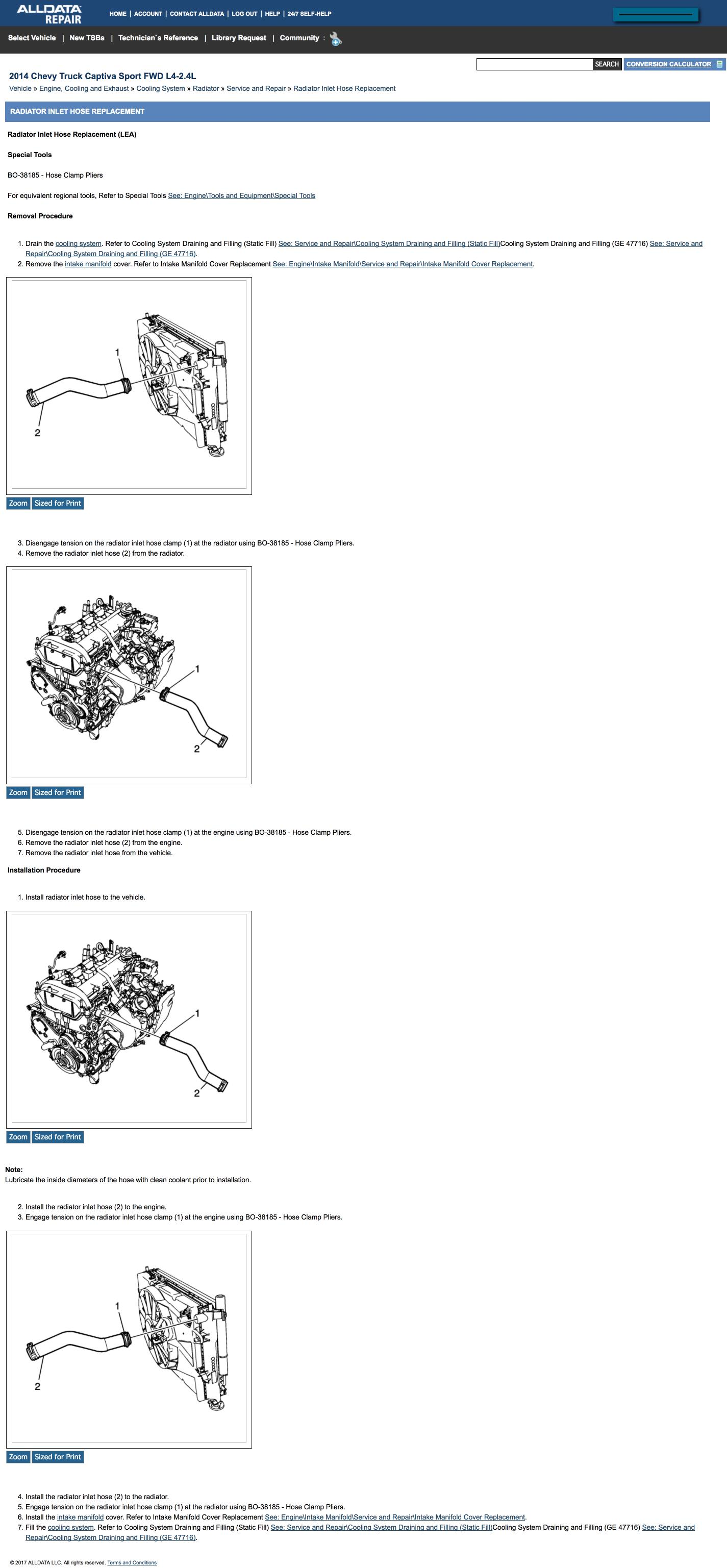 2013 Chevy Captiva Camshaft Position Sensor Location