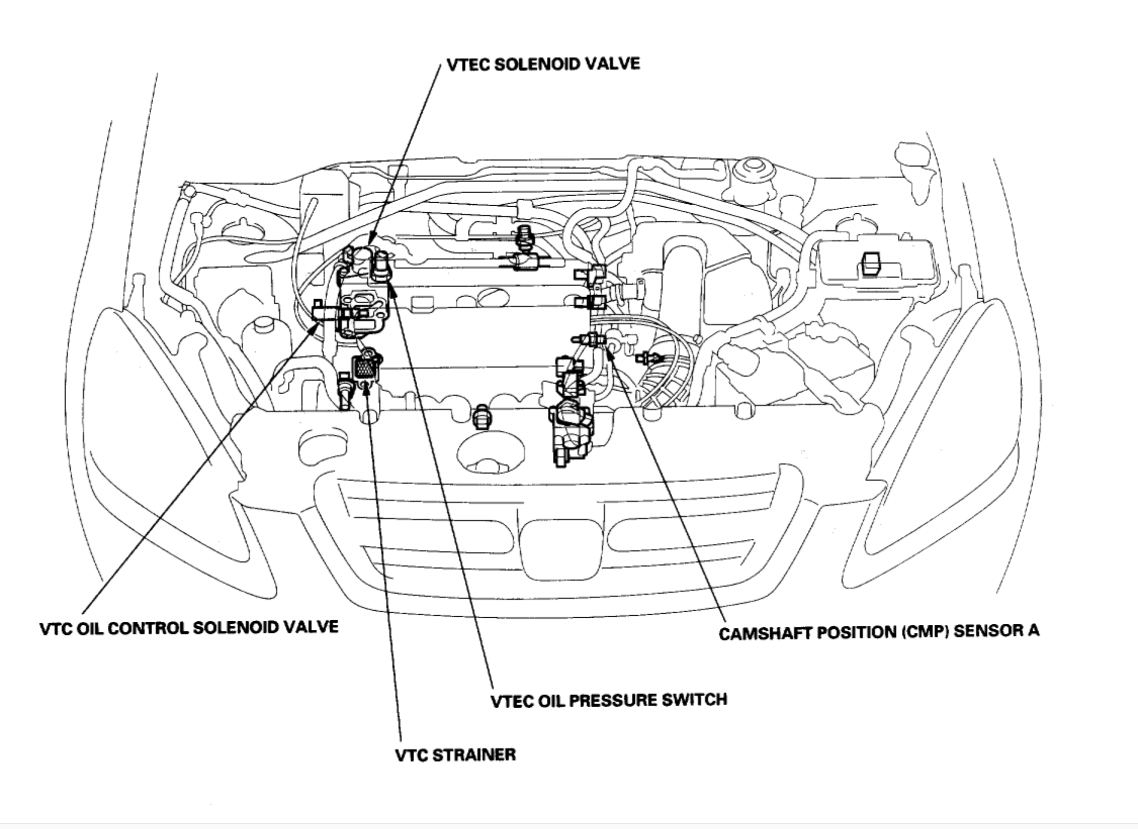 honda vtec engine illustration