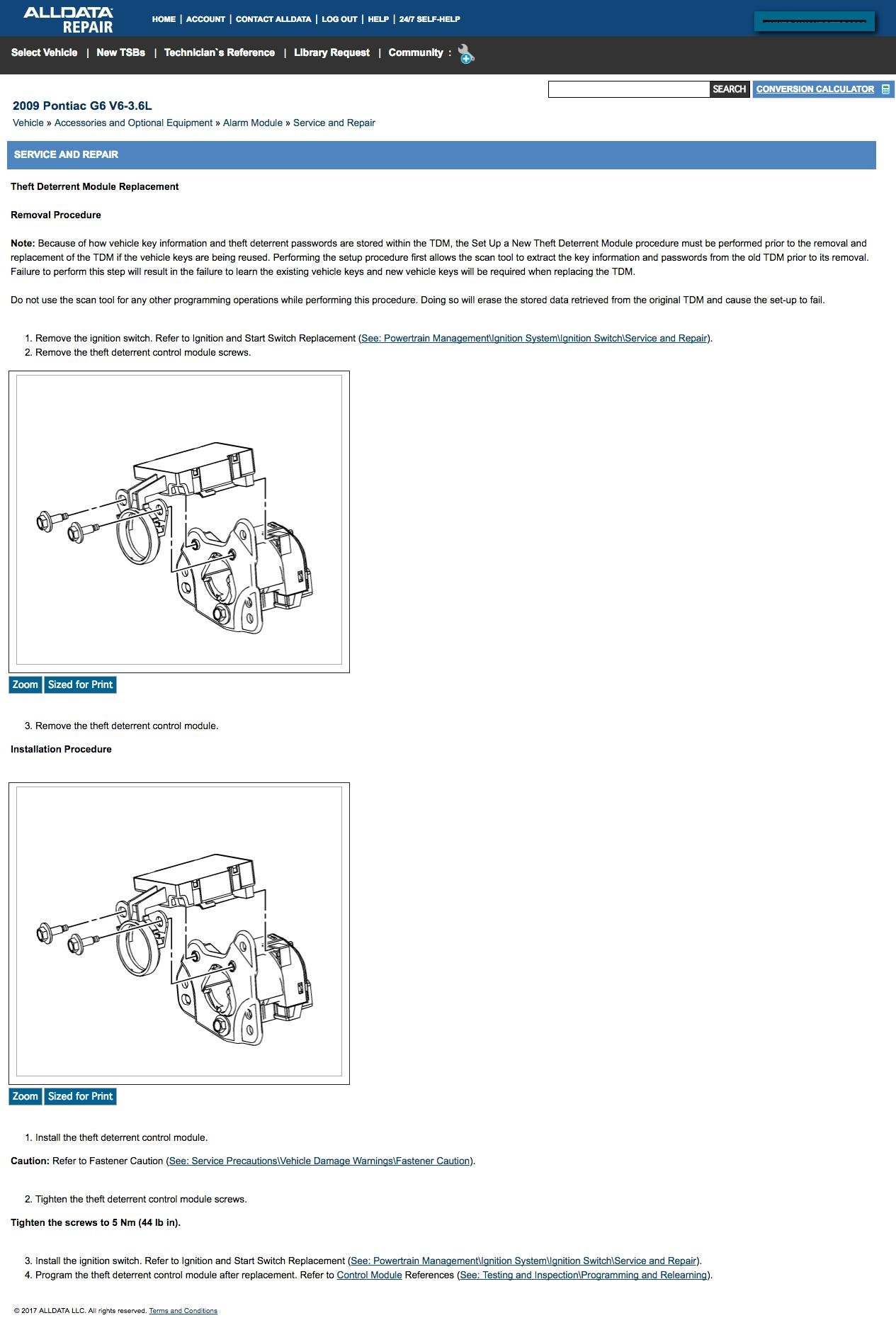 I Need To Replace The Ignition Switch In My 2009 Gt G6 Sometimes Pontiac Fuel Filter 6065bb99 3c10 4a32 Ab75