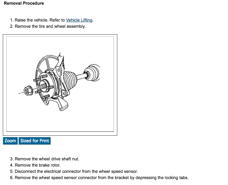 2008 saturn vue wheel bearing torque specs
