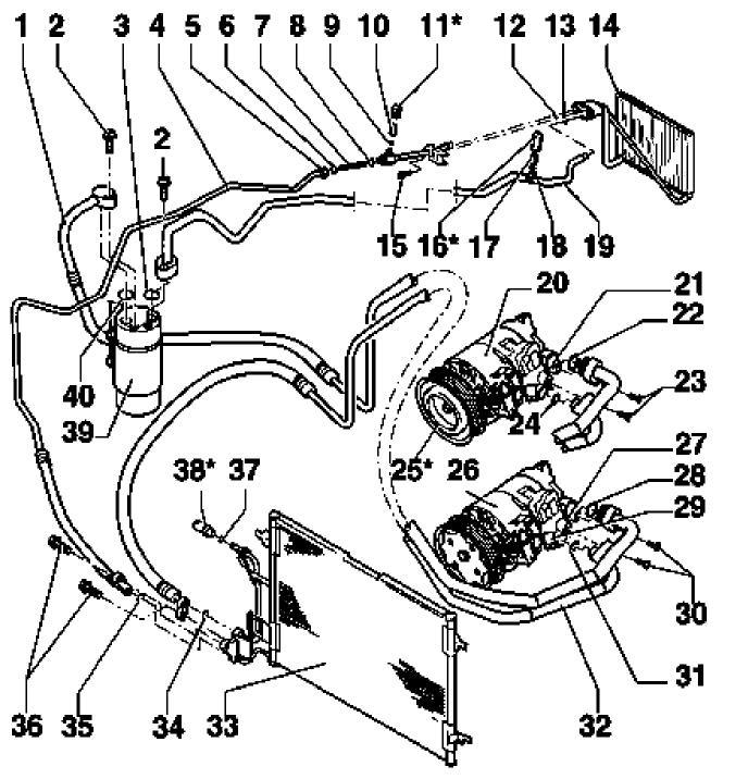 Vw Beetle Ac Low Pressure Port