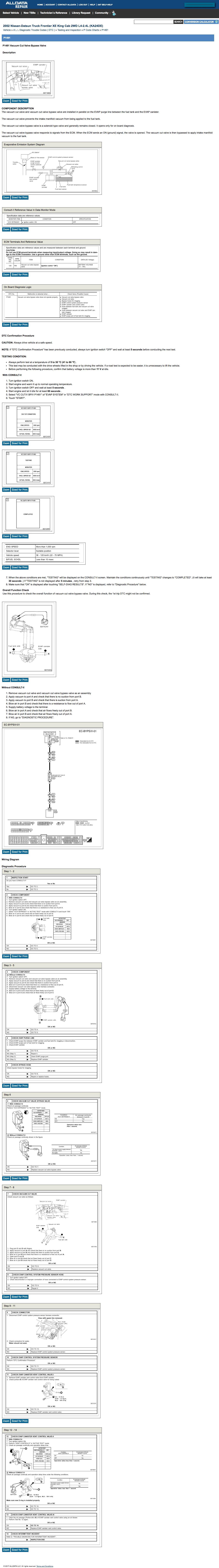Nissan Rogue Service Manual: P0462, P0463 fuel level sensor