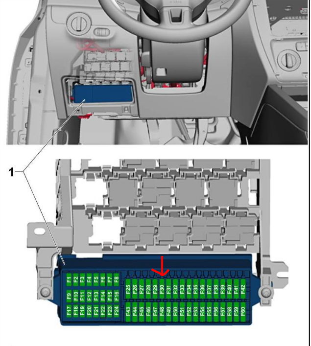 Looking For A Fuse Diagram For A 2014 Jetta Se  Need To Know Which Fuse Controls The Power Outlets
