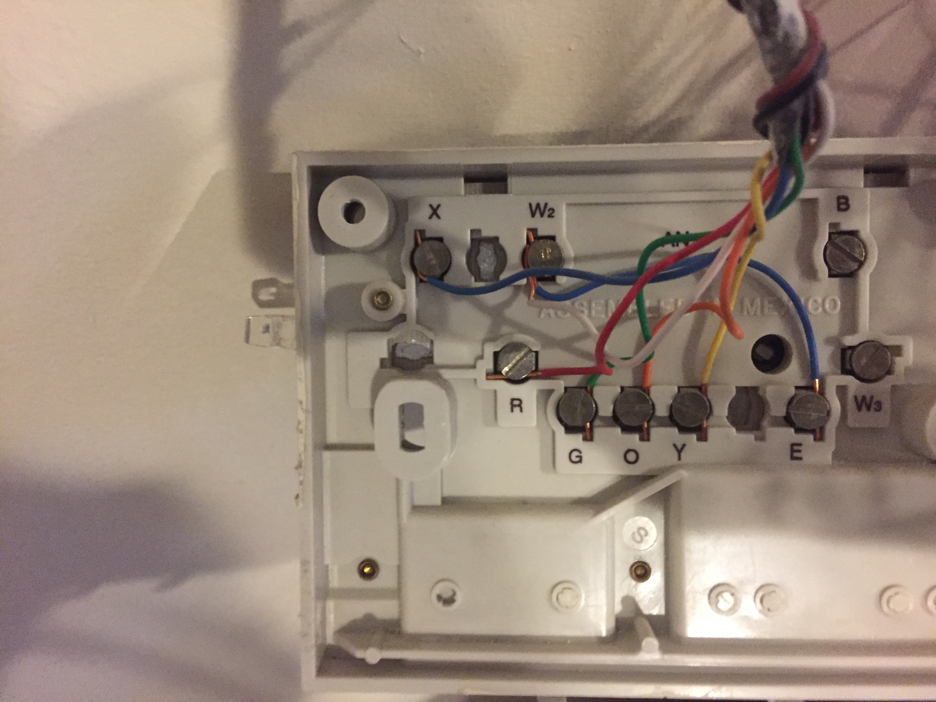 Old Honeywell Thermostat Lr Wiring Diagram on