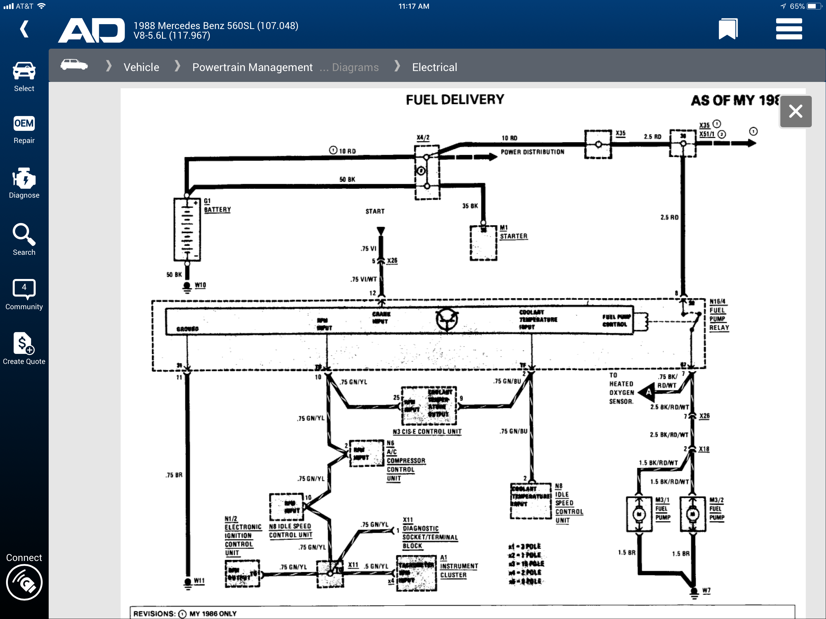 Wiring Diagrams In Addition Mercedes 560sl Fuel Pump Relay Location