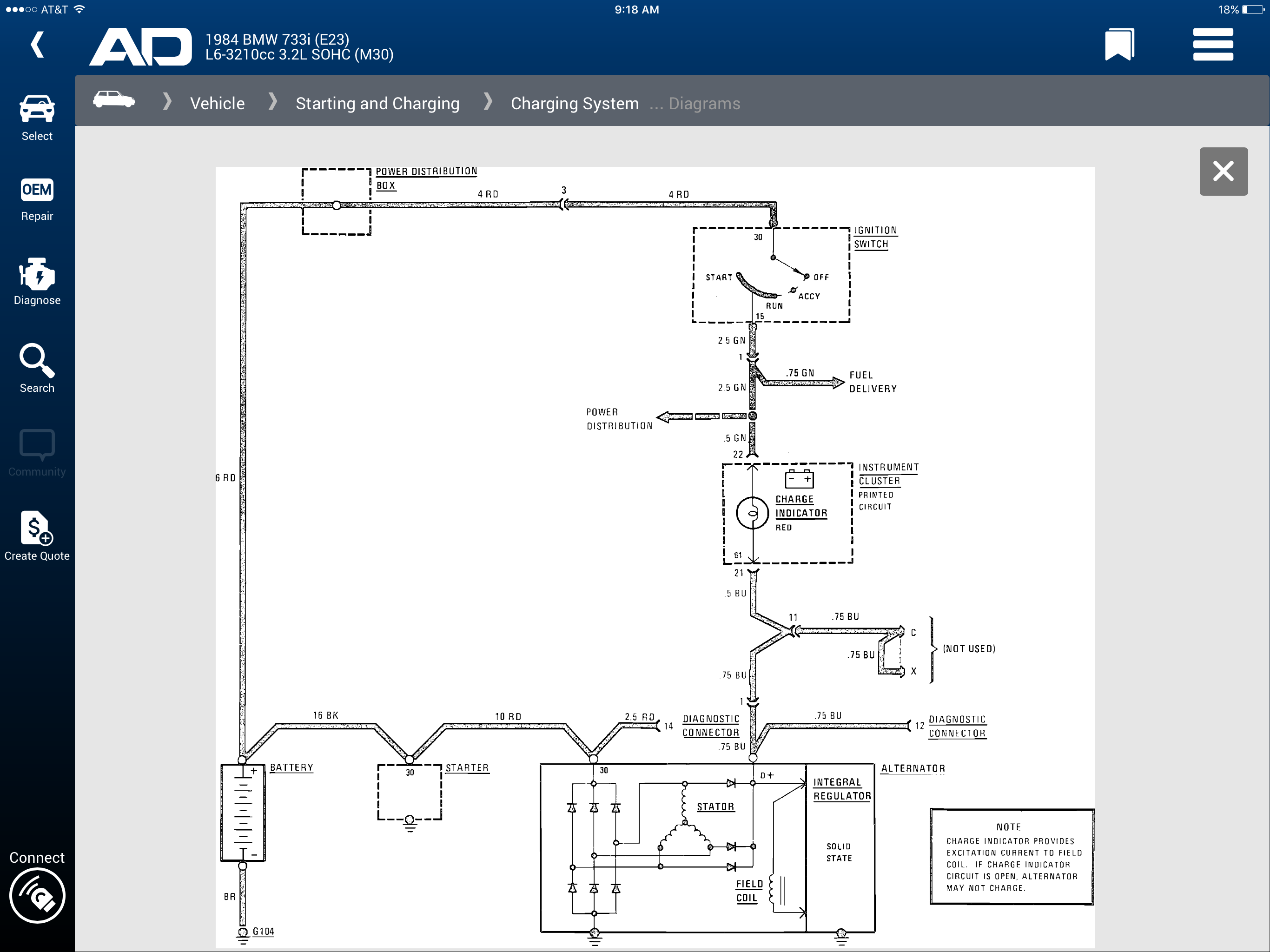 Bmw Code 51a7 Wire Diagram Opinions About Wiring 1984 Gm Just Change My Alternator But Car Still Not Charging 733i Rh Justanswer Com 2007 E93 Schematic