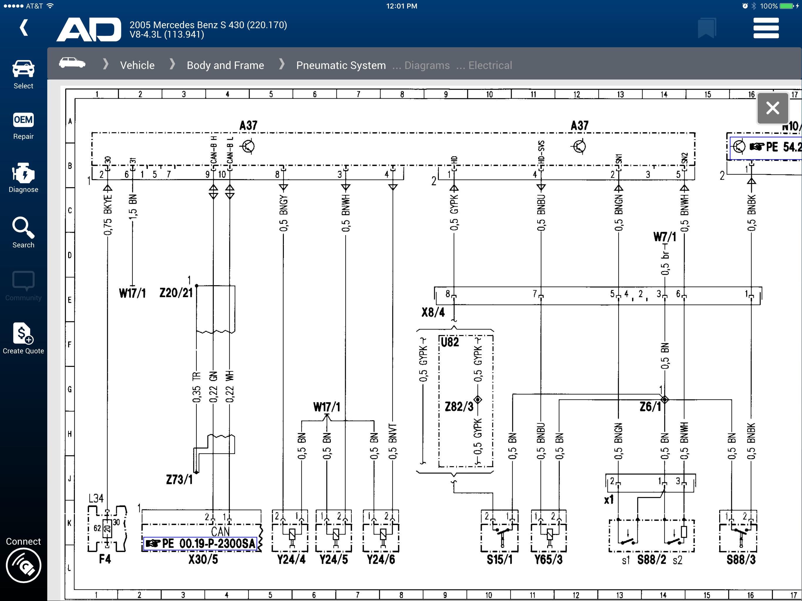Mercedes Pse Pump Location On 2000 Mercedes S430 Radio Wiring Diagram