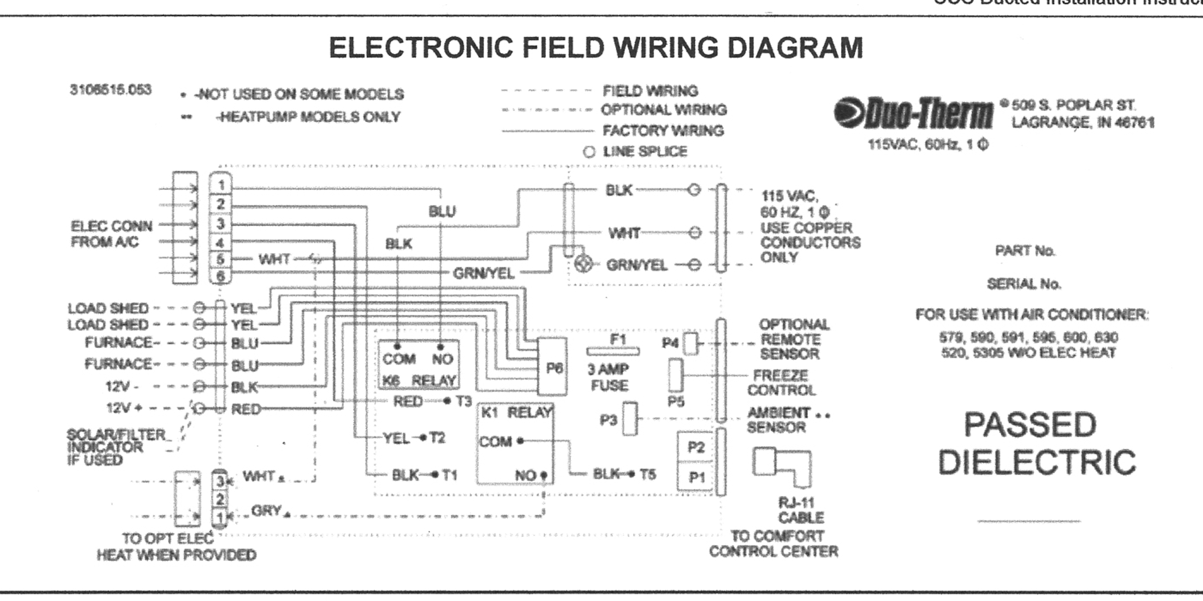mobile home coleman furnace thermostat wiring diagram my model 2540 atwood furnace will not start. the fan just ...