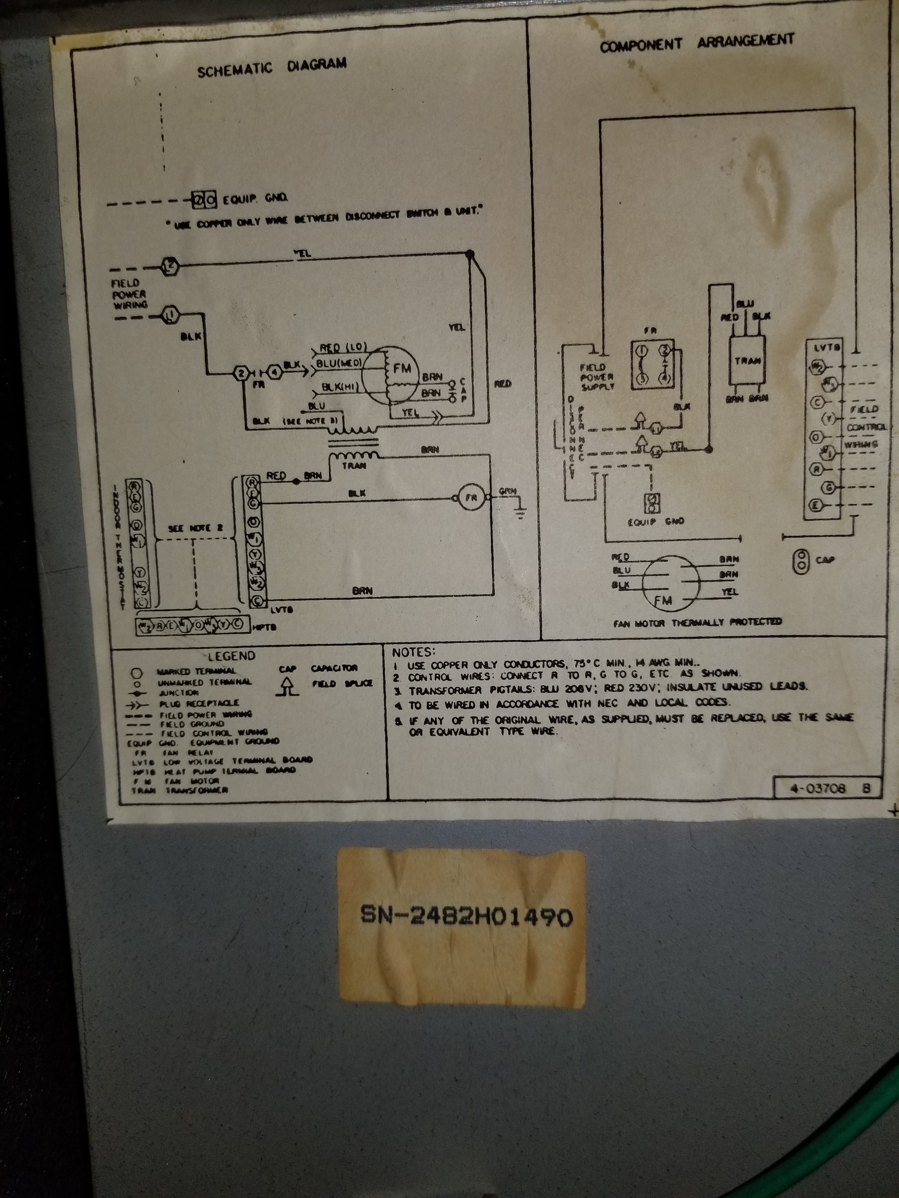 I Have A S1 Thec11ns Thermostat And Noticed That Randomly When Wiring Peanut Relay Hvac Diagram
