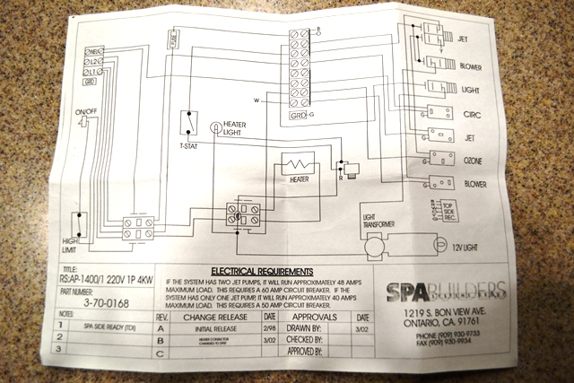 i have a royal spa majesty hot tub 10 yrs old i turned it off to rh justanswer com Cal Spa Wiring Diagram royal spa hot tub wiring diagram