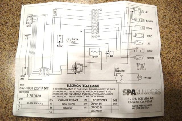 Royal Spa Wiring Diagram - 7.20.manualuniverse.co • on