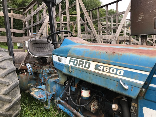 My clutch will not engage my ford 3600 tractor  Just tried