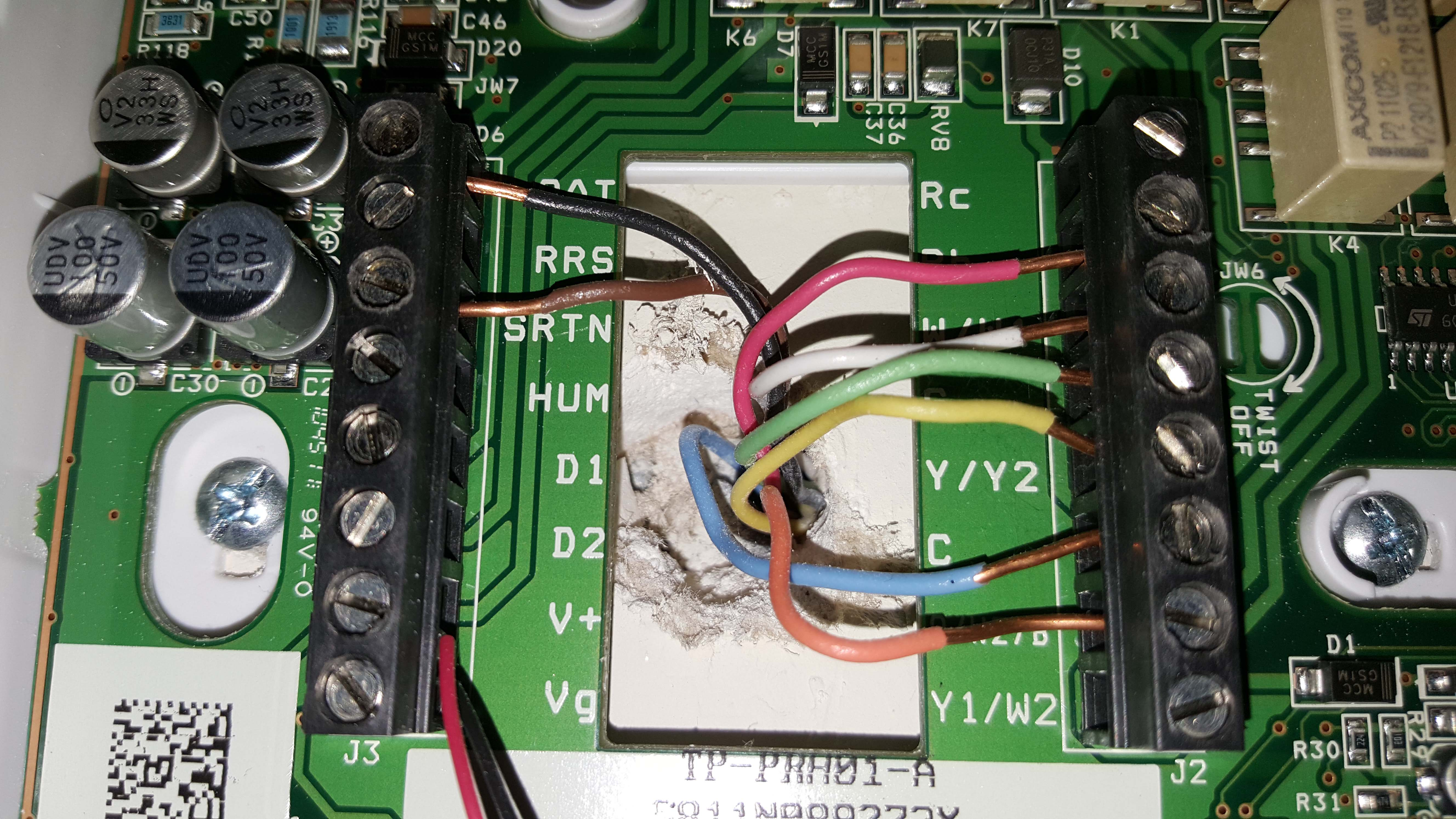 I Have A Carrier Hvac Dual Fuel System That Has Vg And V Wires Nest Wiring Diagram Boiler