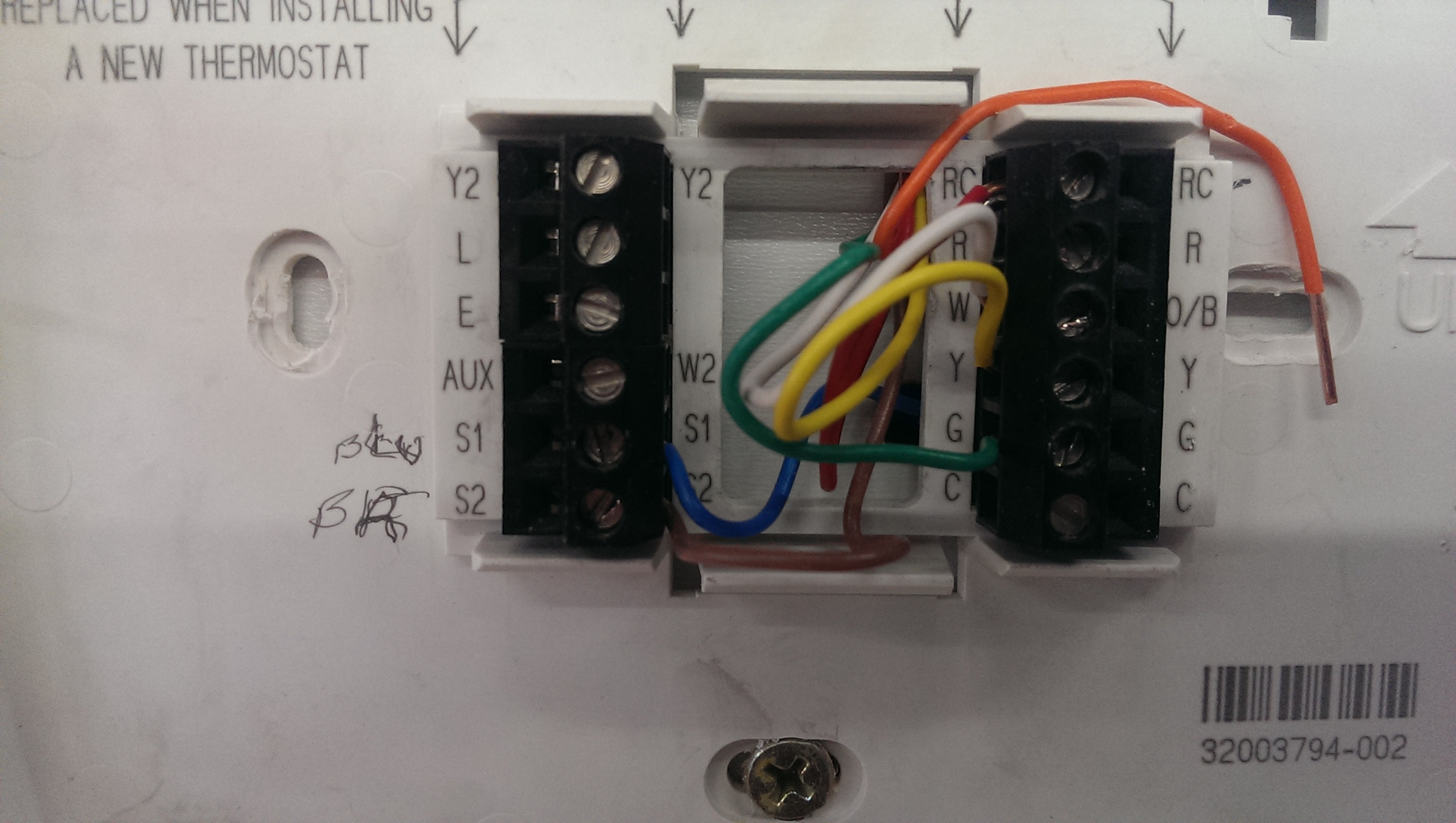 I Am Replacing Thermostat That Has S1  U0026 S2 Wires What Are
