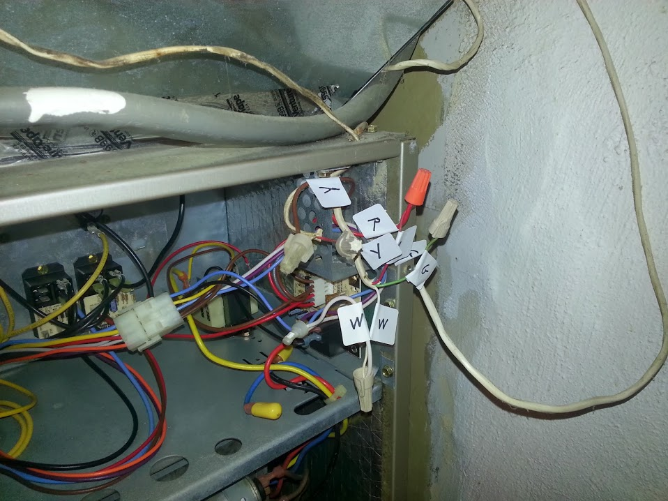 I want to install an Ecobee EB-STAT-02 thermostat, which consists of Unit Carrier Diagram Package Wiring Es A on