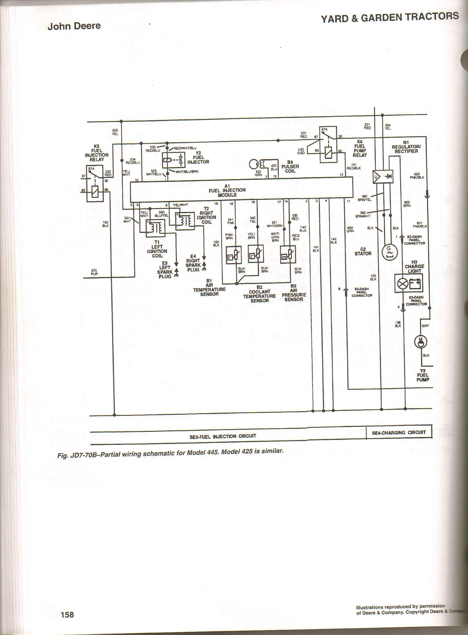 John Deere 455 Diesel Fuse Box Diagram Wiring Library Pump
