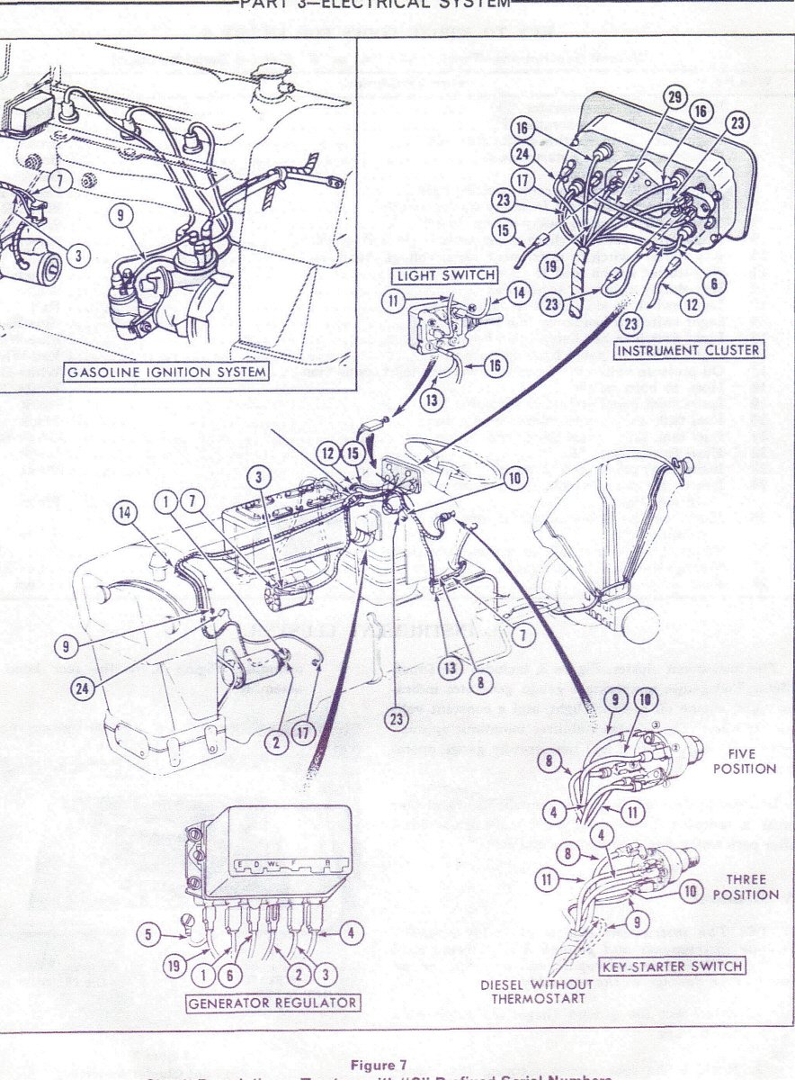 i have a ford 555 backhoe that a kid working for me pulled the wires rh justanswer com ford 555 wiring diagram Ford Electrical Wiring Diagrams