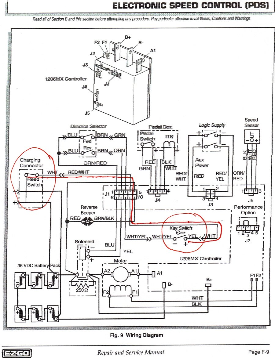I Need A Wiring Diagram For My Ez Go Golf Carts 48 Volt
