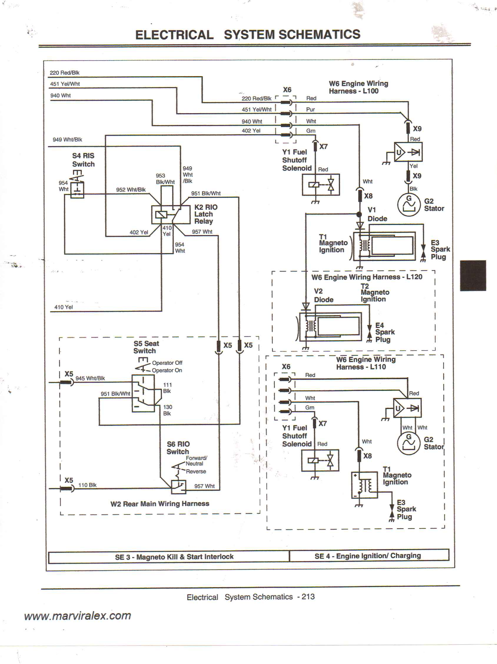 Wiring Diagram For John Deere L120 Lawn Tractor Everything Wiring