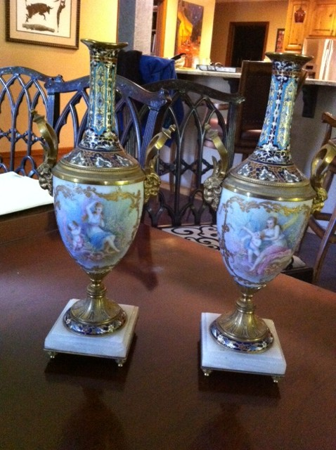 I Have A Pr Of Sevres Vases Any Idea Of Their Current Value Or Any