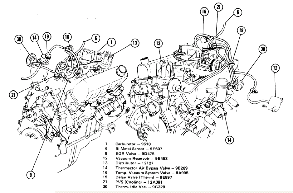 1998 ford mustang v6 engine diagram