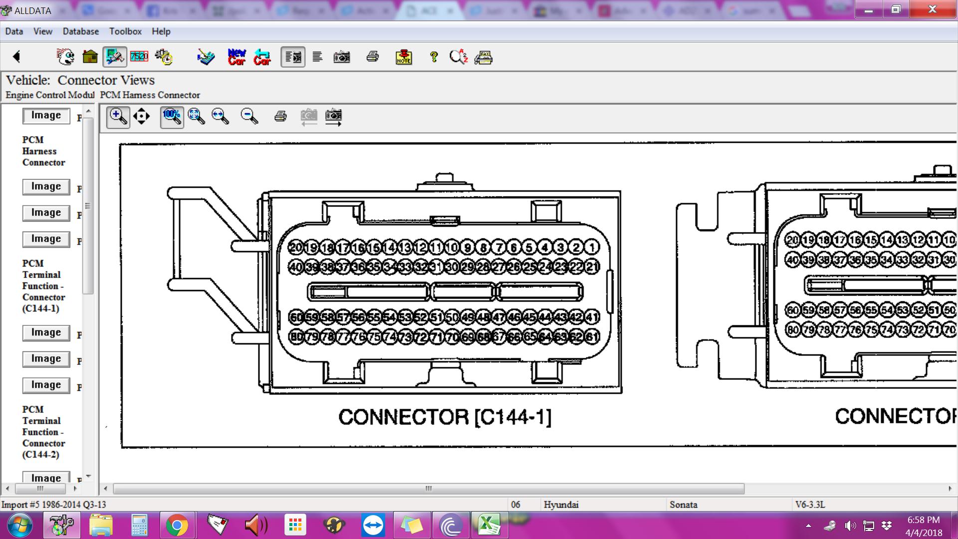 2006 sonata has code p2422 vent valve stuck closed already