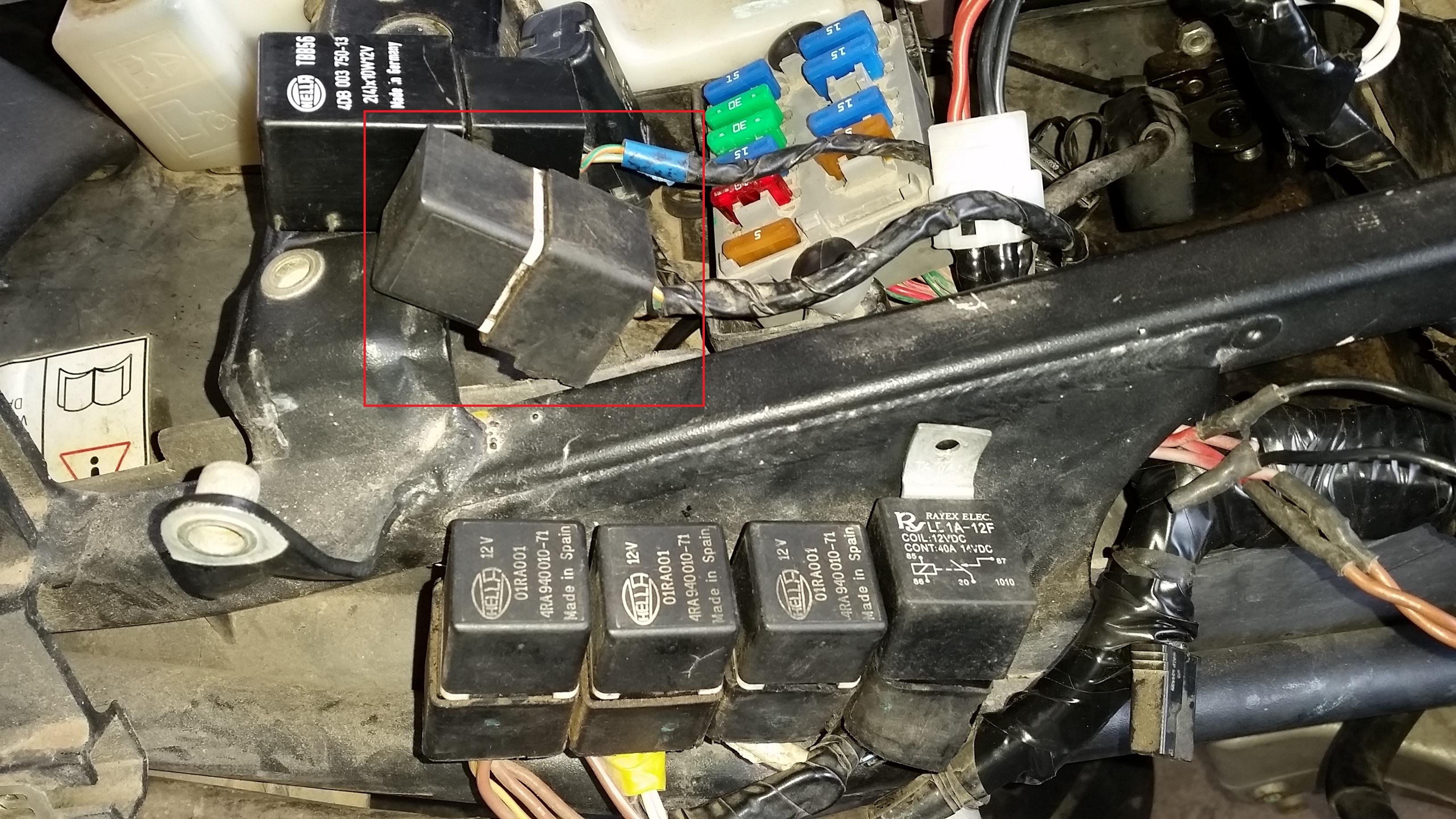 I Have A  U0026 39 02 955i Daytona This Bike Cranks But Doesn U0026 39 T Start I Found A Trouble Code P0230 Fuel