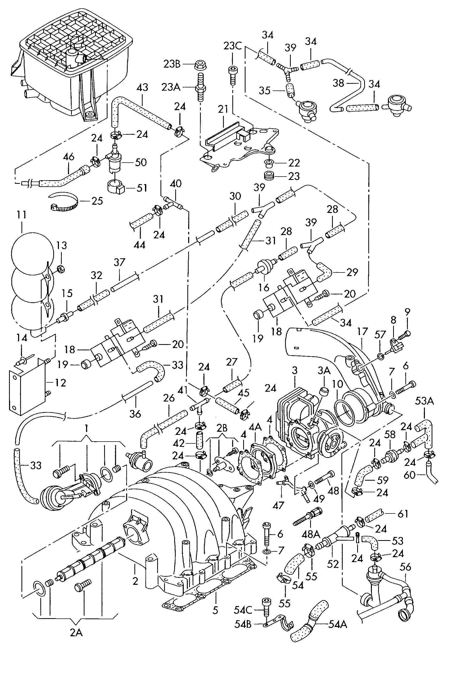 Suction Pump On 2004 Passat V6