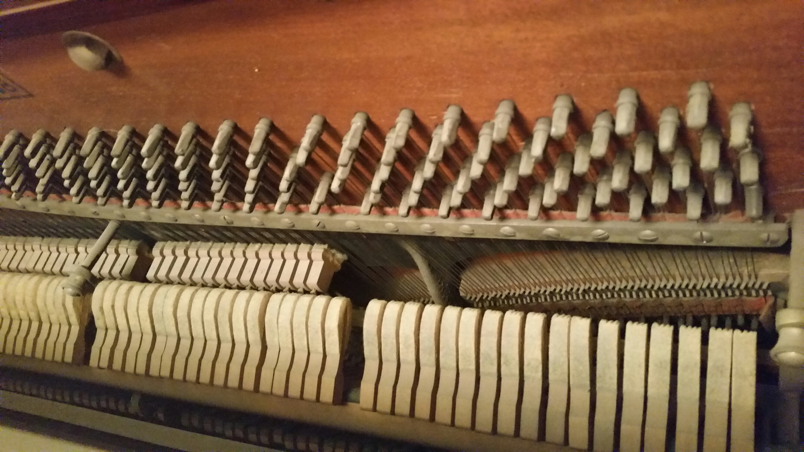 I Have A Hinze Of Chicago Upright Piano That My Mother Purchased