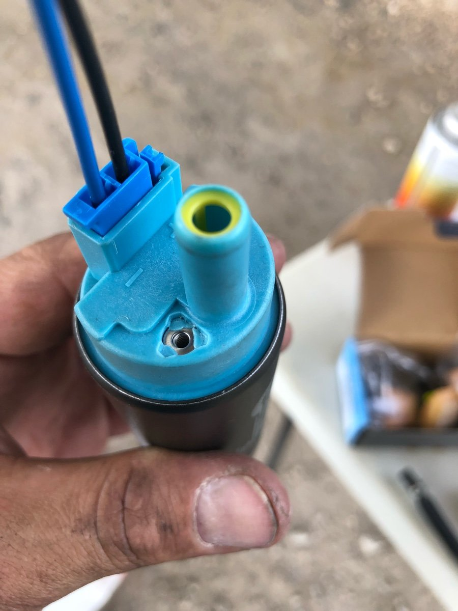 I replaced the high pressure fuel pump and fuel filter on my 2002