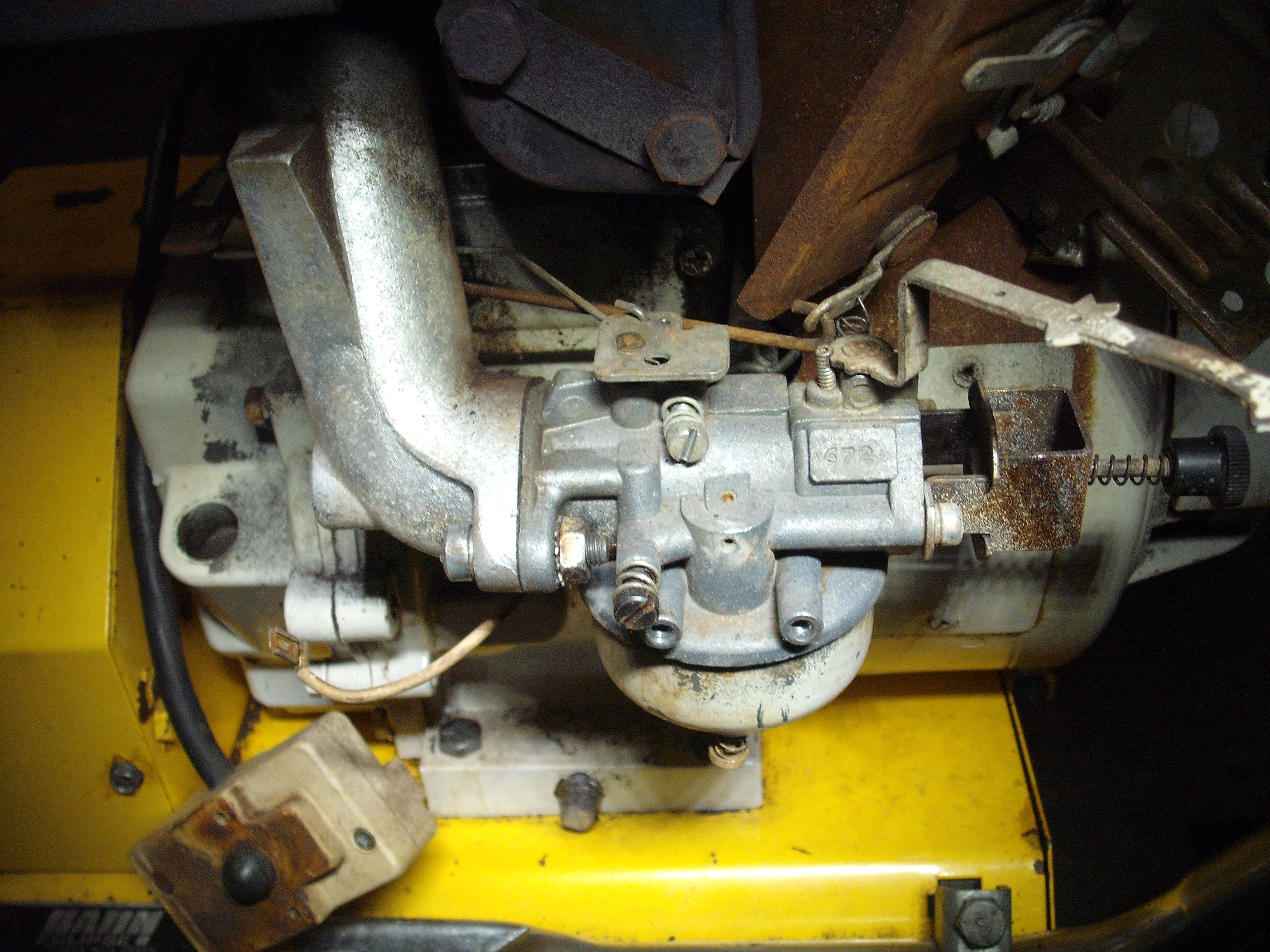 I Have An Older Tecumseh 8 Hp H80 Engine  I Disturbed The Carb Linkage And Forgot Where It All