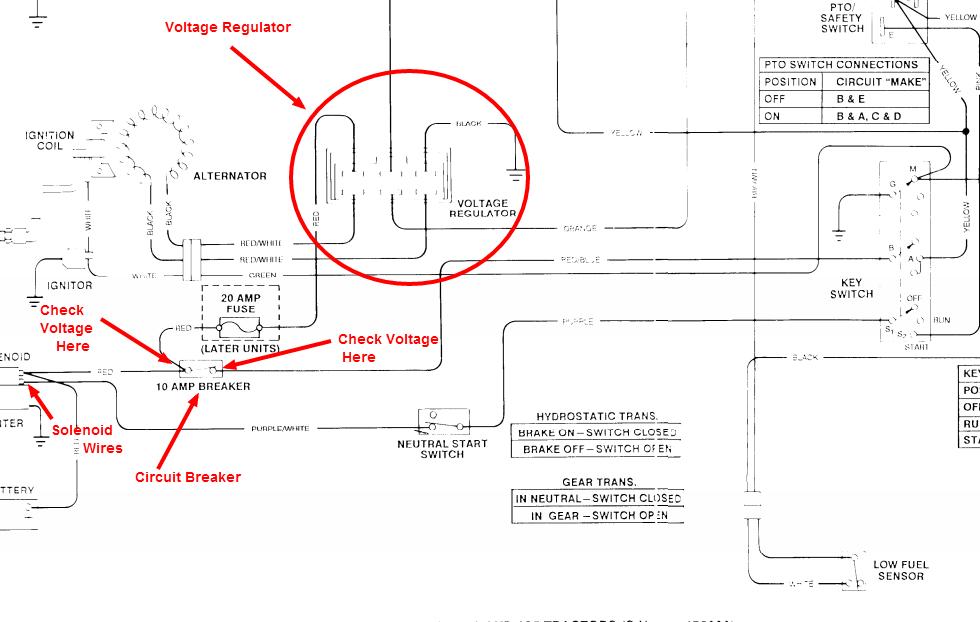 I have a JD 185 hydro that won't start. I think it's got to ... John Deere Hydro Wiring Diagram on john deere 185 electrical problems, john deere 165 wiring-diagram, john deere 175 hydro wiring diagram, john deere 185 starter solenoid, john deere 165 parts diagram,