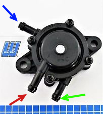 I have a walbro FPC-1-1 pulse fuel pump there is no diagram to show