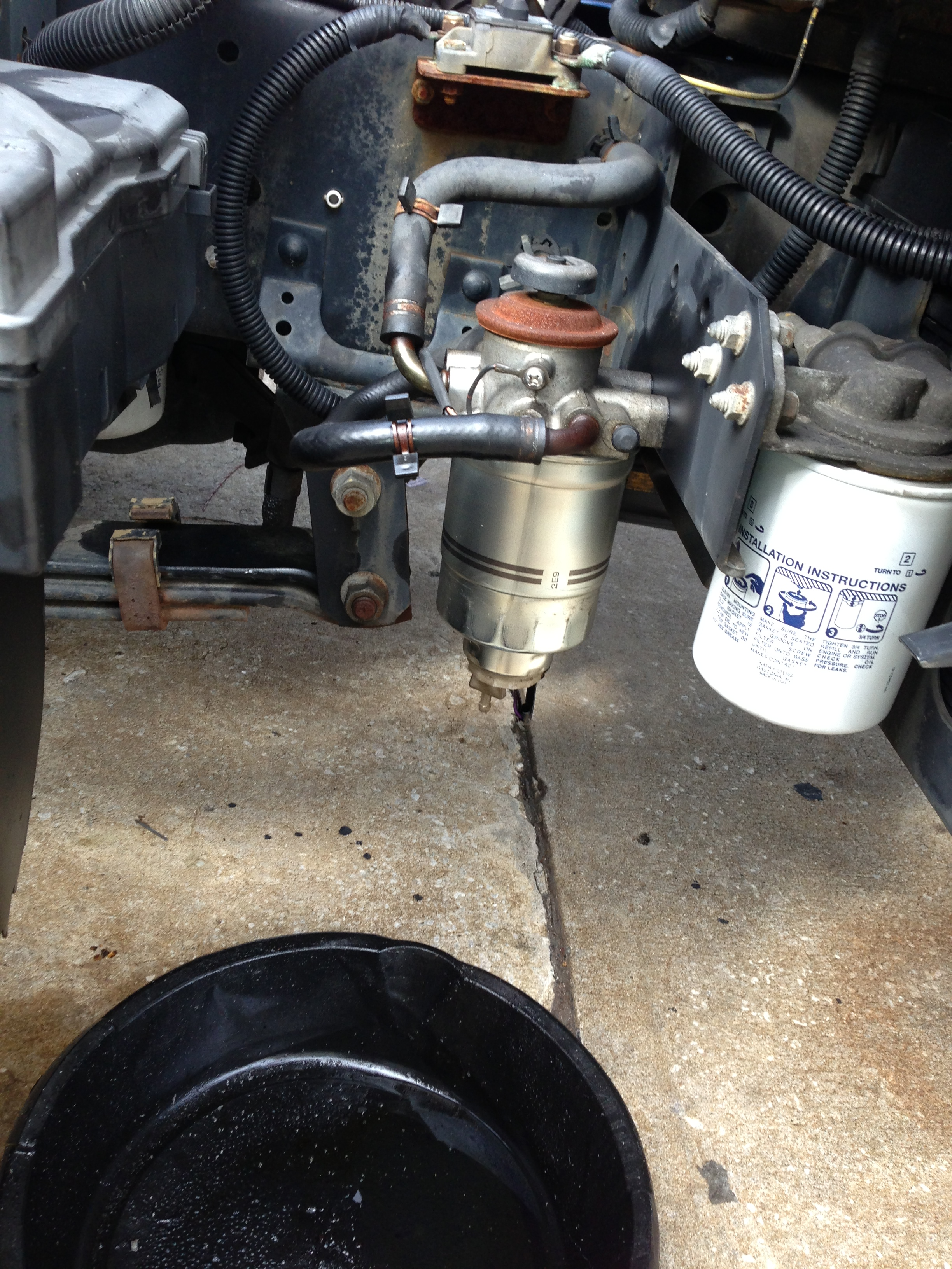 chevy colorado fuel filter change chevy colorado throttle · have a running  problem with a 2005 w4500 gmc like isuzu