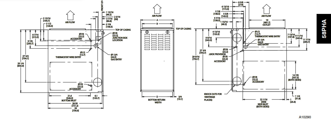 Need To Confirm Air Filter Direction Thermostat Settings Are Rhjustanswer: Carrier 58mcb080 Wiring Diagram For Model At Gmaili.net