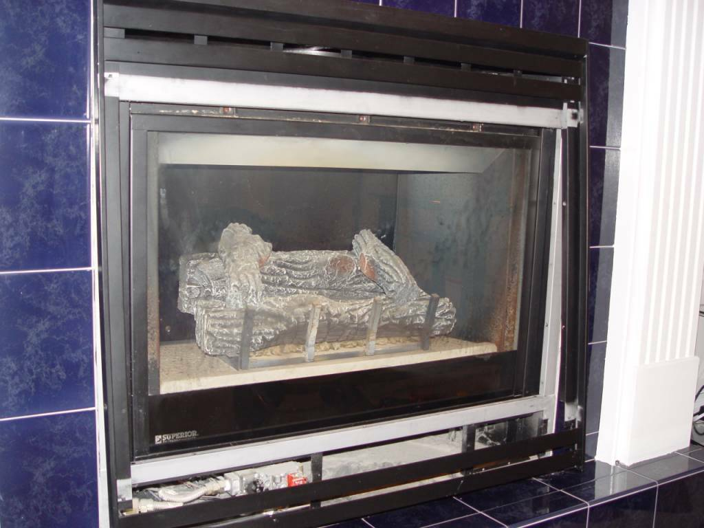 I have a Superior Fireplace DS-36TN-2... how do you remove the glass? I have the gold trim off and the outside black - Answered by a verified HVAC Technician