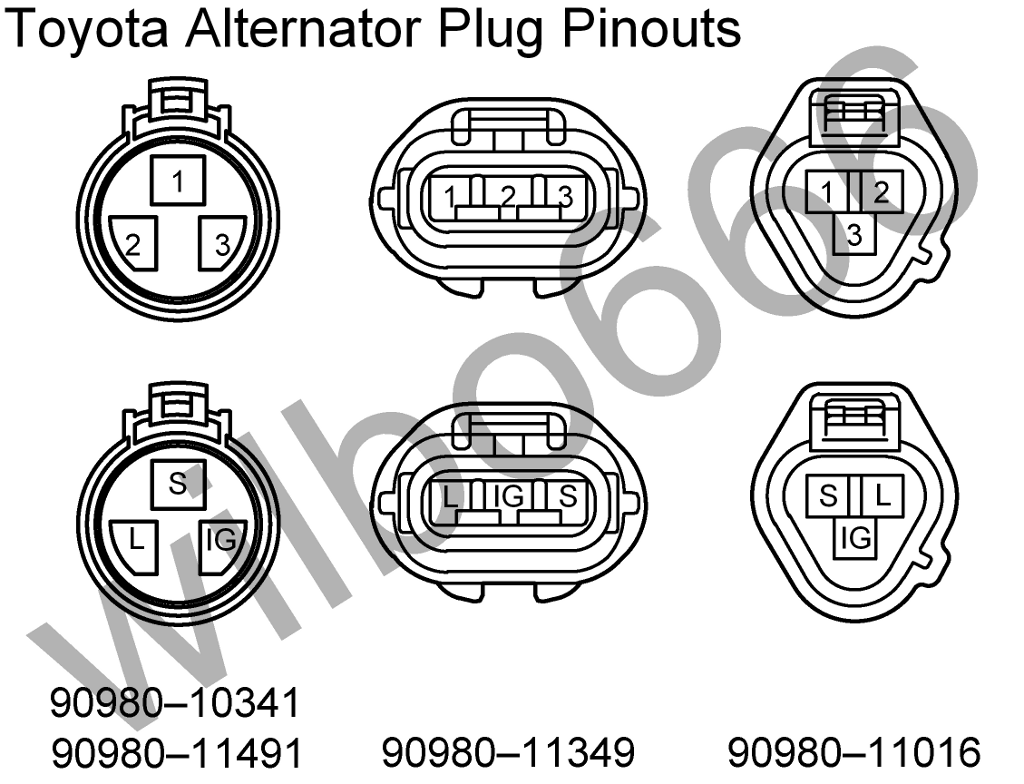 1998 Toyota Tacoma Alternator Wiring Diagram Electrical Firebird Gm Camry Schematic Diagrams 2011