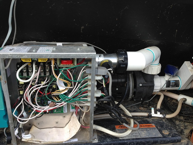 i have a 2003 cal spa hot tub and after having the tub ... cal spa wiring diagram install