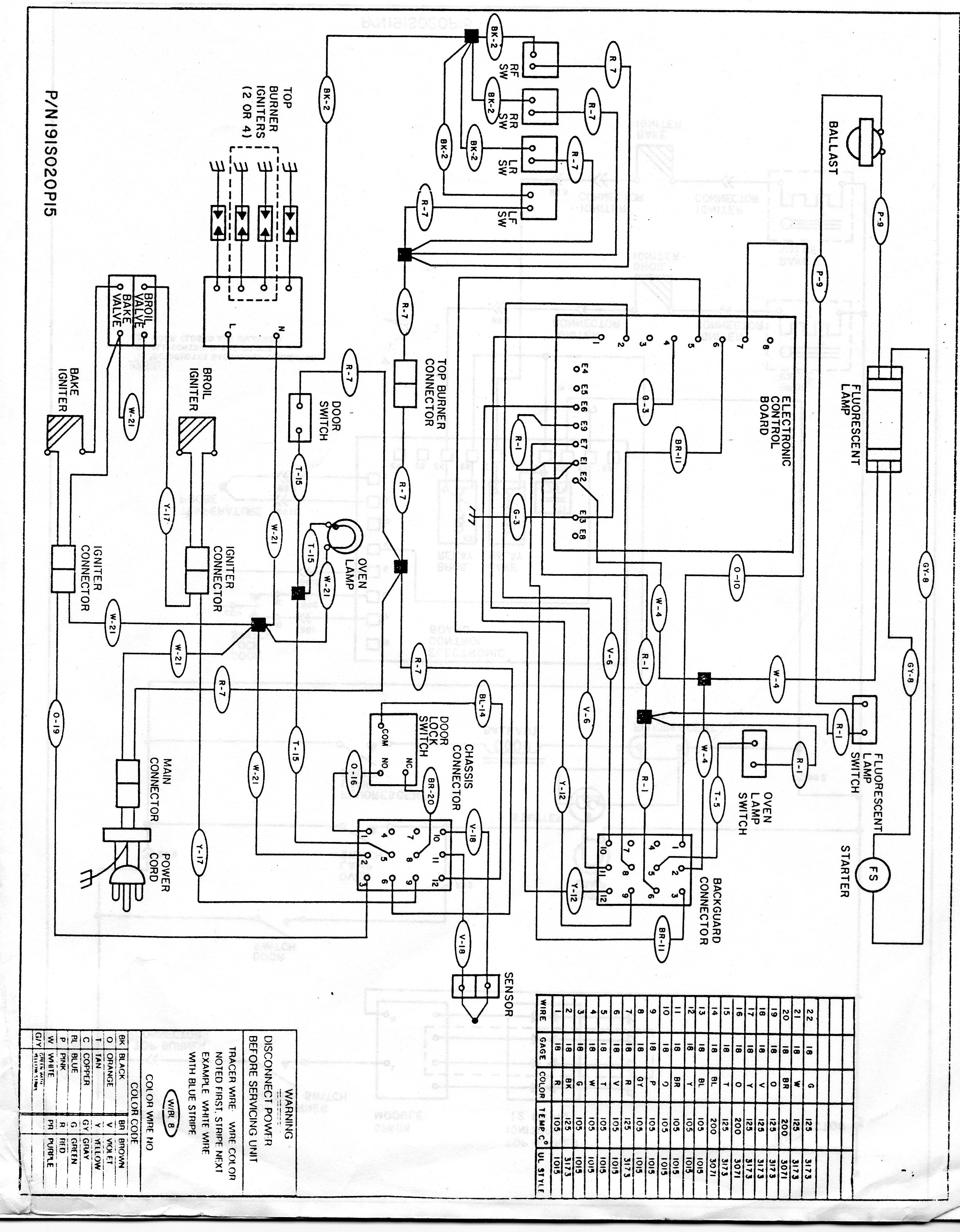 tappan electric stove wiring diagram i have a tappan range model number 30-3989-00/05 which i ...