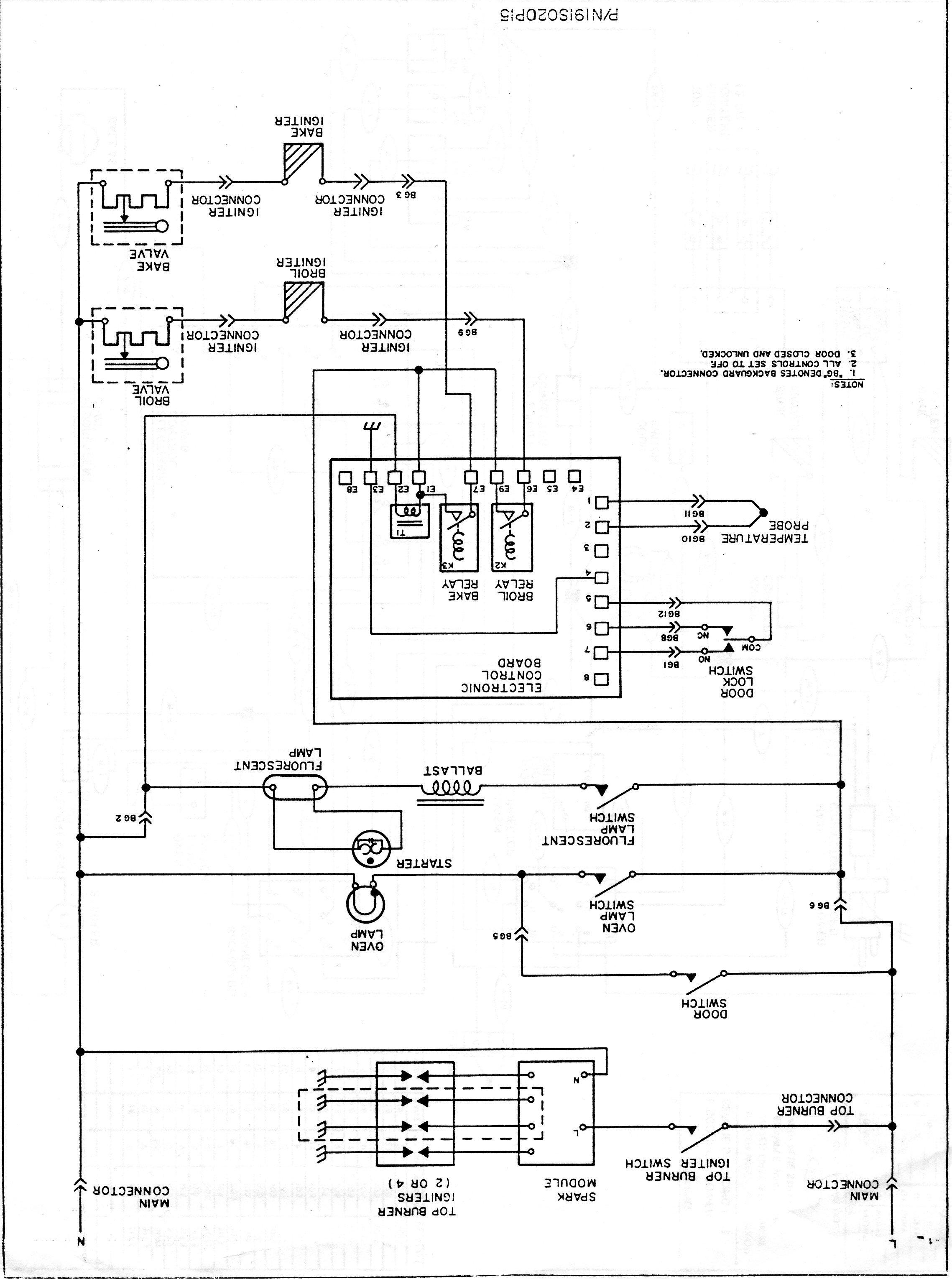I have a Tappan range model number 30-3989-00/05 which I ... Tappan Range Wiring Diagrams on