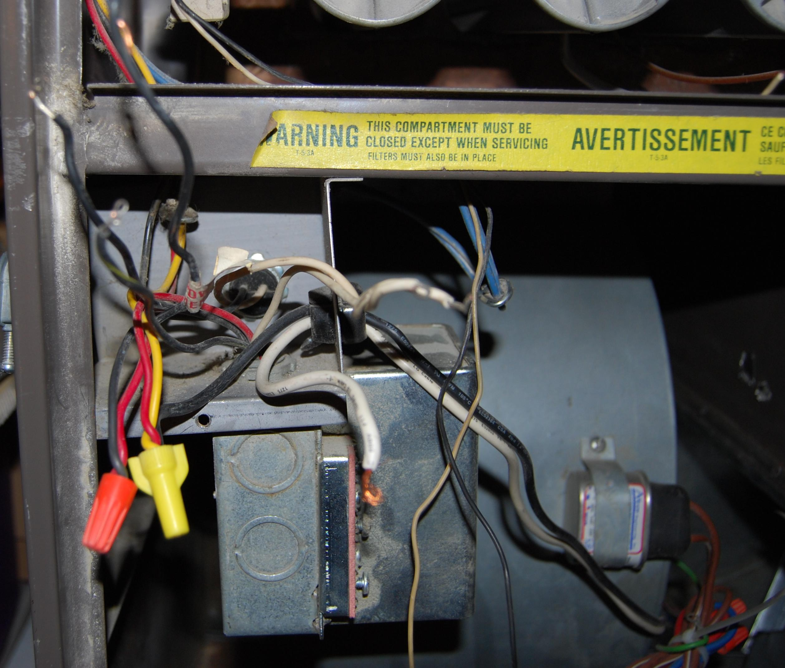 Old Furnace Wiring Diagram Olsen Gas Lennox G8 Solutions