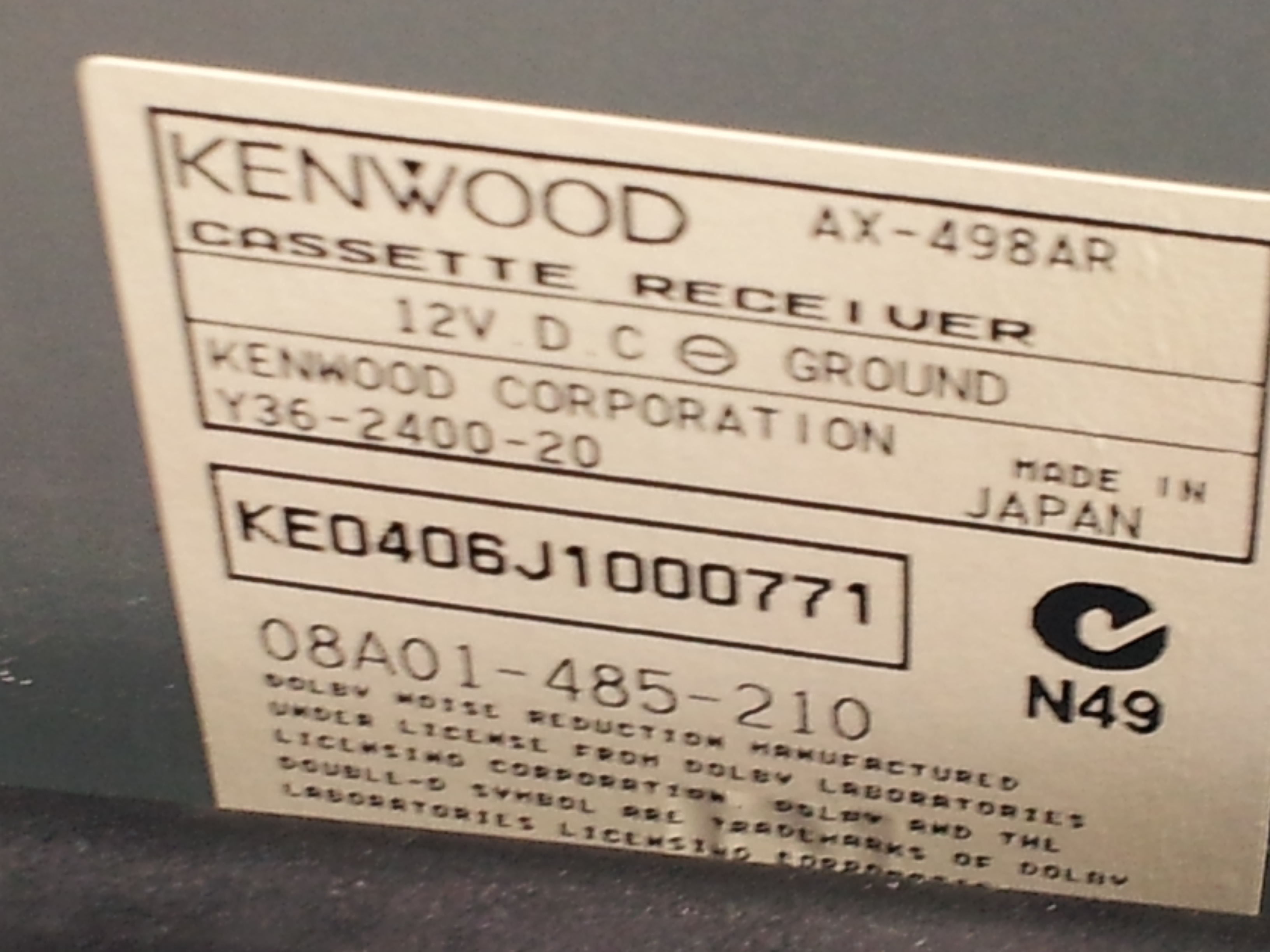 I Need The Radio Code For My 1998 Honda Civic I Am The Registered