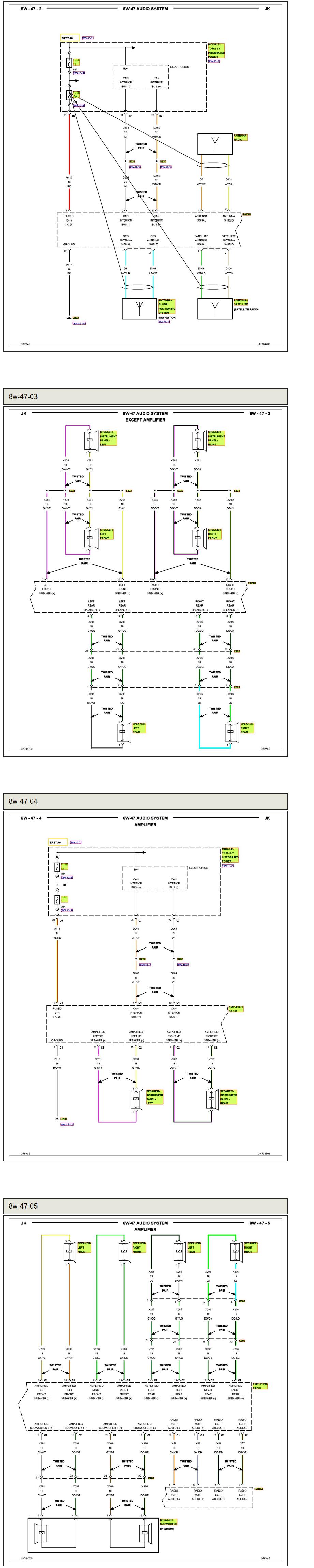 Need Wiring Diagram For Part No P05107095aj Thats The Chrysler Kenwood Model Kdc X494 03d29b87 0754 4d51 8d8c 03d29b8