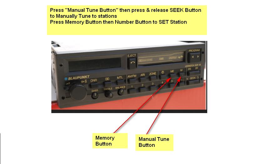 I have a Blaupunkt Lexington SQR 46 radio in a 1988 Ferrari 328  I