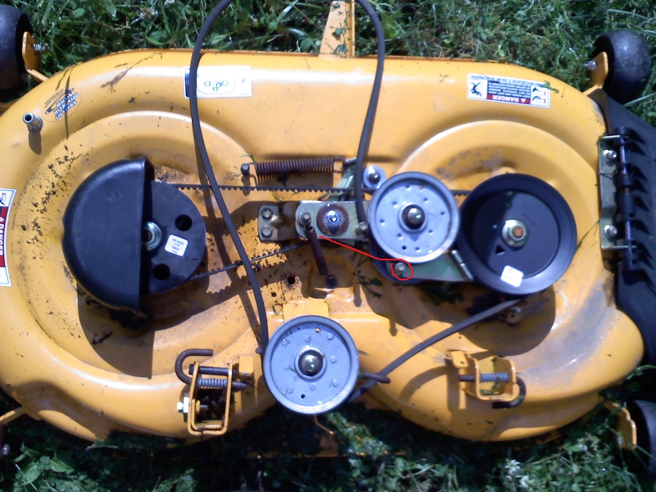 Cub Cadet Lxt 1040 With A 42 Inch Deck I Need The Diagram Manual Guide