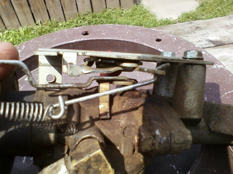 I have a Craftsman wheel trimmer and need a diagram of the linkage