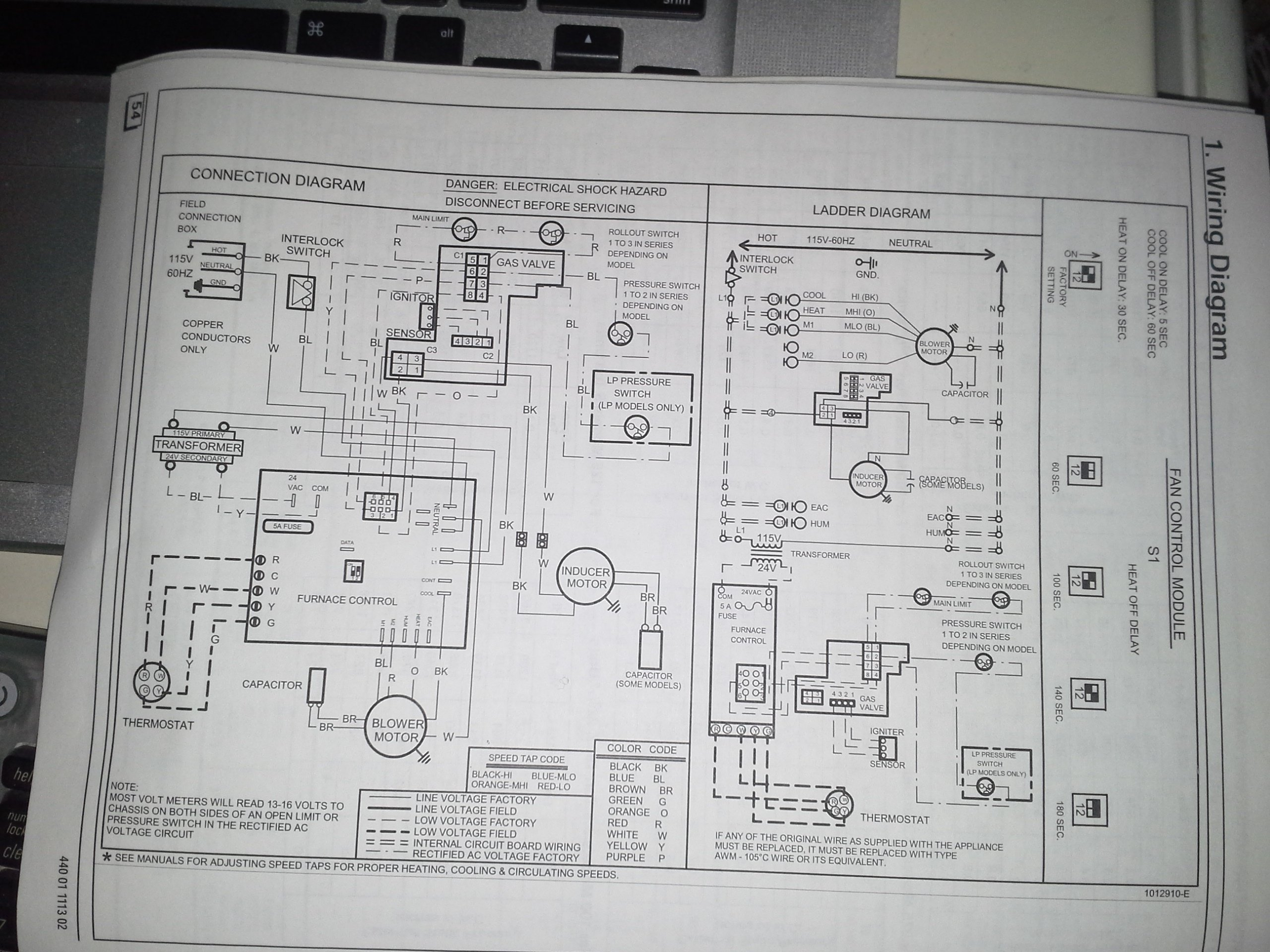 Wire Thermostat Wiring Also Honeywell Gas Control Valve Wiring Diagram