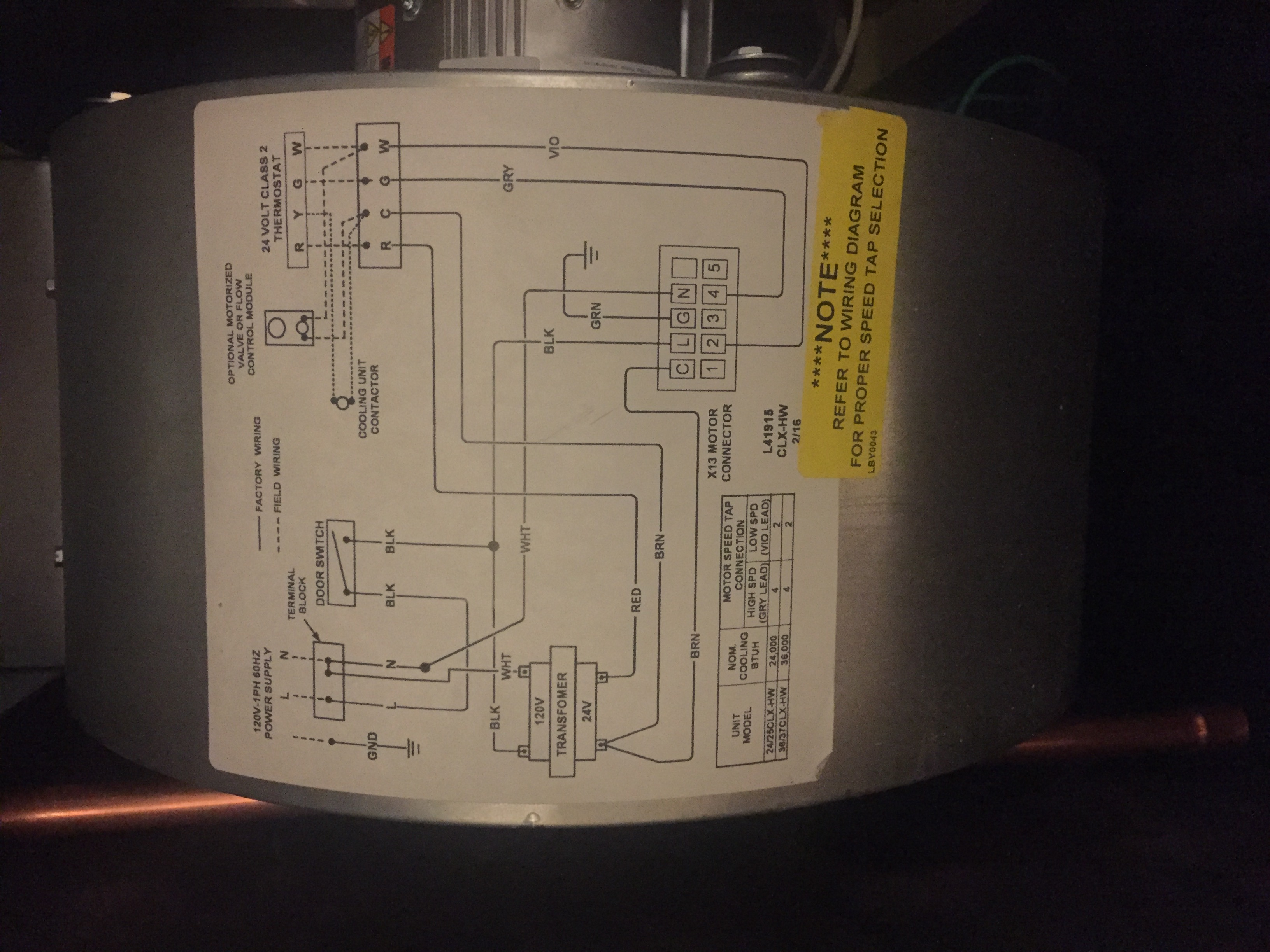 I Am A Home Owner Replaced Heating System In My House With Hydro Nest 2 Stage Thermostat Wiring Diagram Img 5522