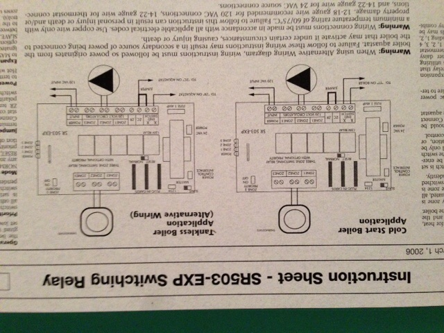 Rcs tz45: I want to replace a 2-wire heat only thermostat (w
