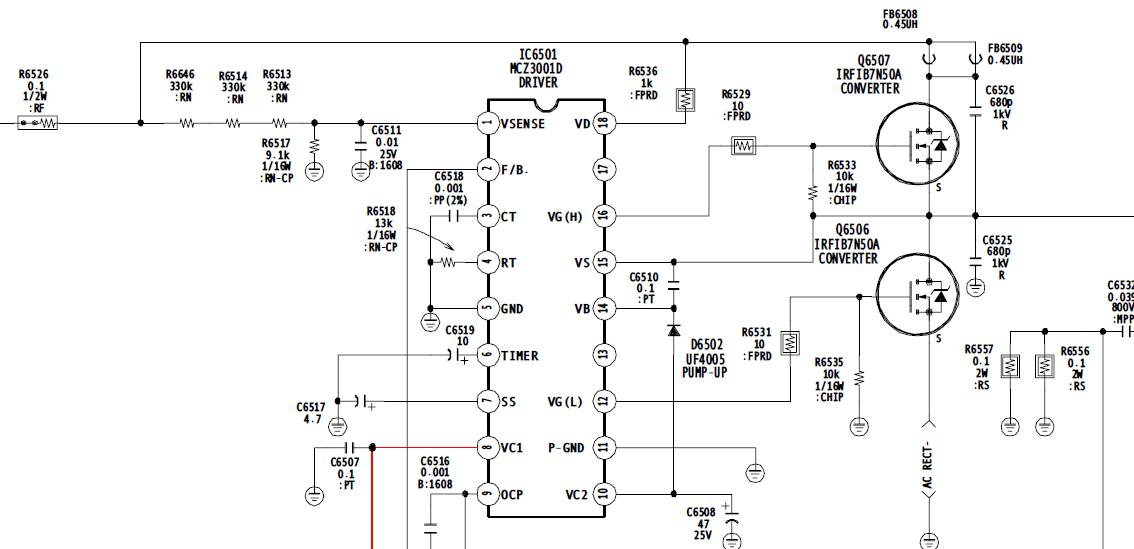 sony 40xbr800 installed the mcz3001db chips in ic6501 and ic8002 rh justanswer com